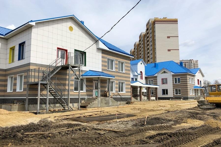 К осени в Тамбове построят три новых детских сада