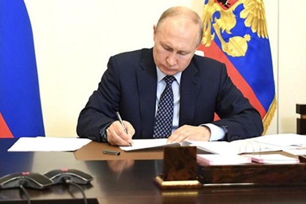 Путин подписал закон о дистанционном электронном голосовании