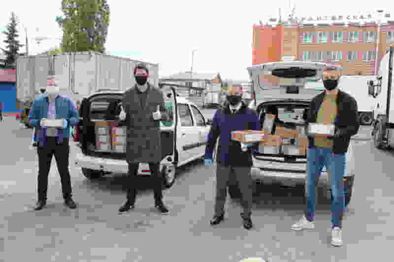 «ТАКФ» оказал тамбовчанам благотворительную помощь