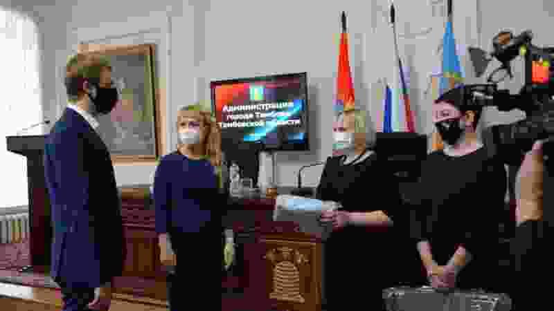 Тамбовские медики получили очередную партию СИЗ