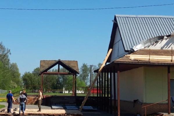 В доме культуры Моршанского района начался капитальный ремонт
