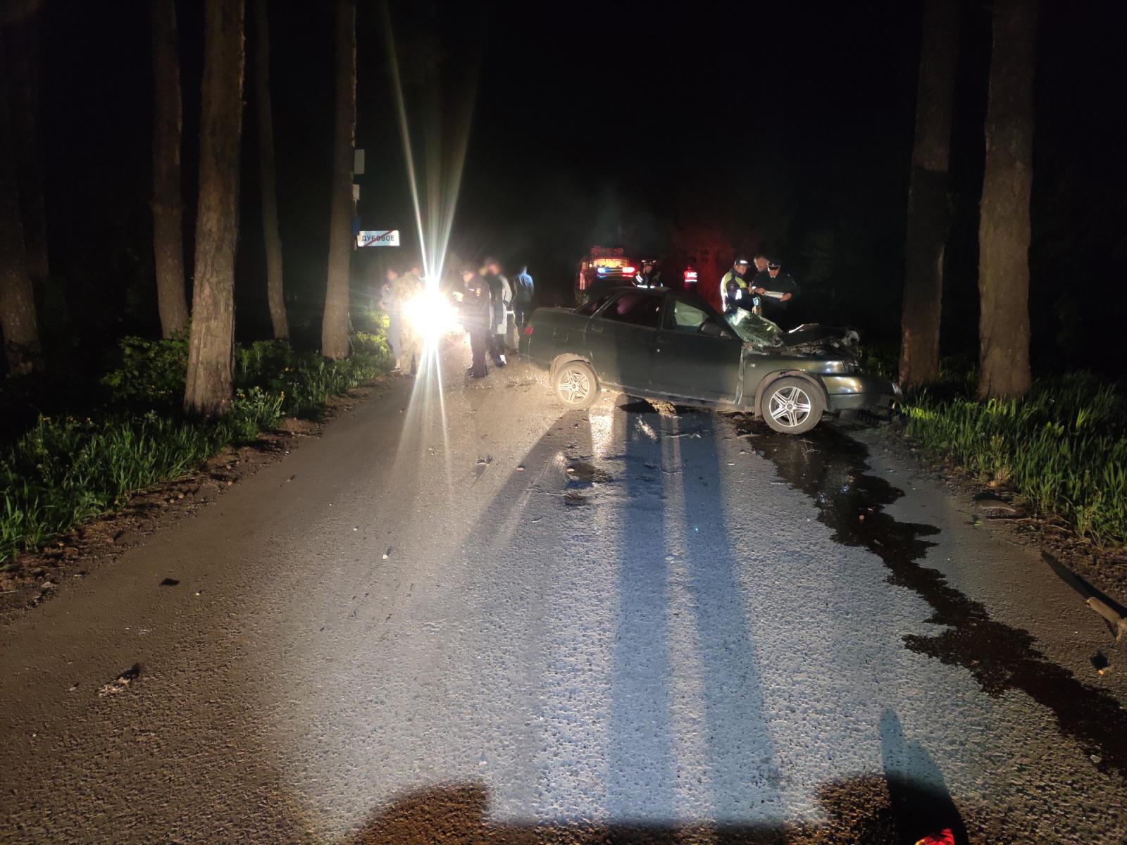 """В Петровском районе """"десятка"""" врезалась в дерево: водитель погиб"""