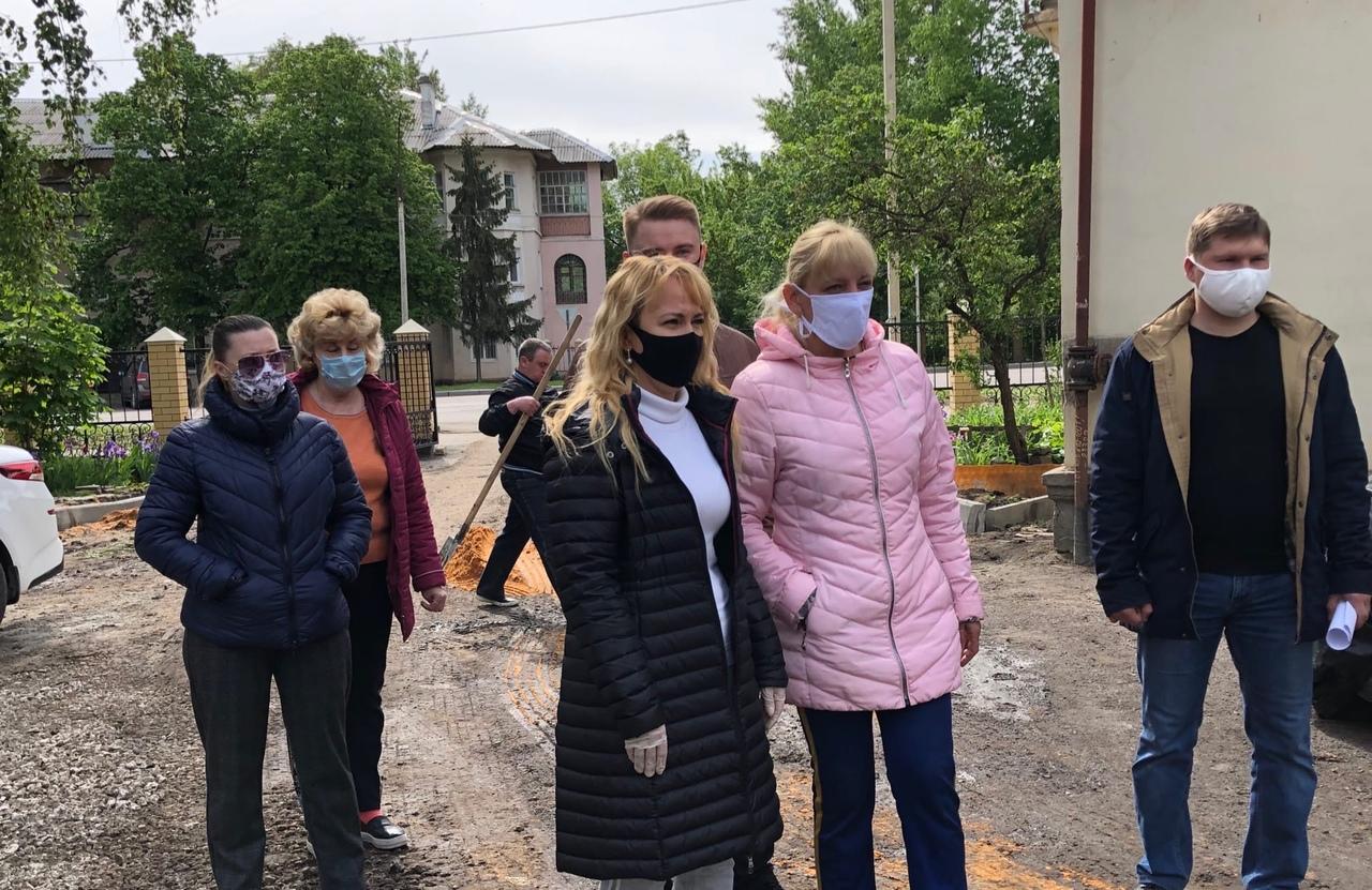 В Тамбове оценили, как проходит благоустройство во дворах города