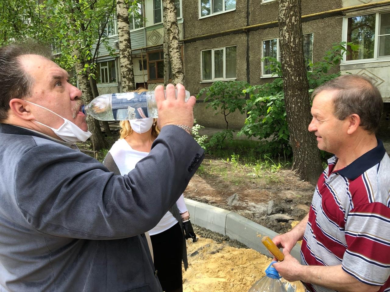 В Тамбове проверили качество воды в районе ТЭЦ