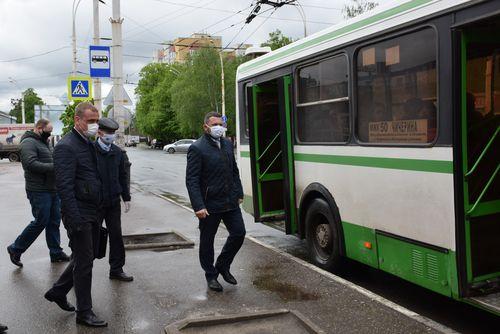 В Тамбове проверяют соблюдение масочного режима в общественном транспорте