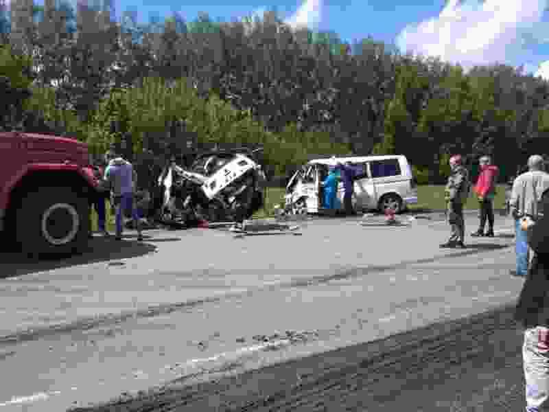 В Тамбовской области три человека погибли в страшной аварии на трассе
