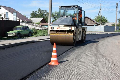 Автодорогу на Ново-Рубежном переулке приводят в нормативное состояние