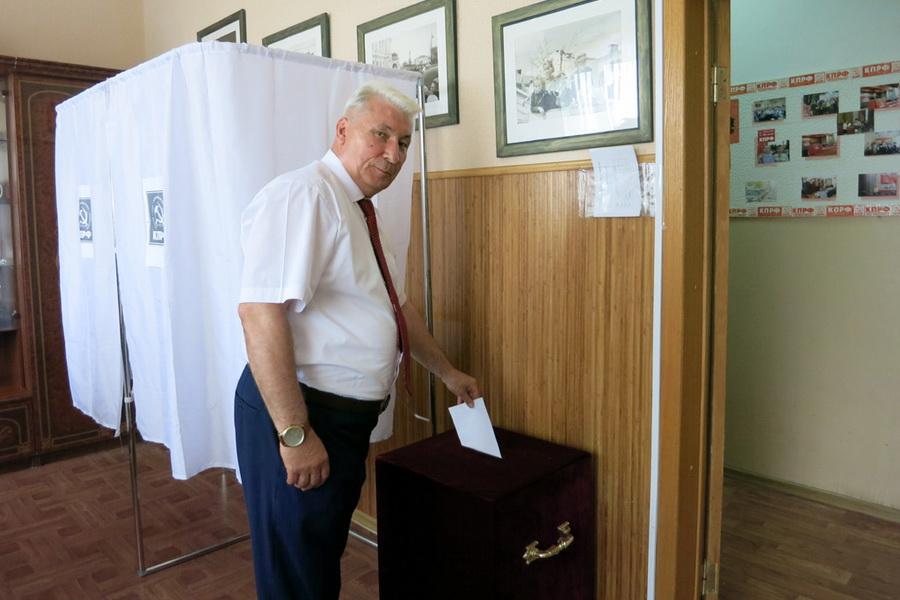 Депутат облдумы Андрей Жидков выдвинут кандидатом на должность губернатора области