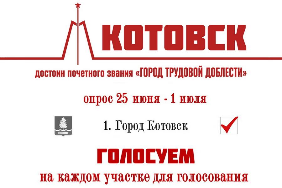 """Котовск борется за звание """"Город трудовой доблести"""""""