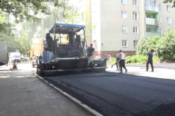 На Рылеева, 90 завершается ремонт дворовой территории