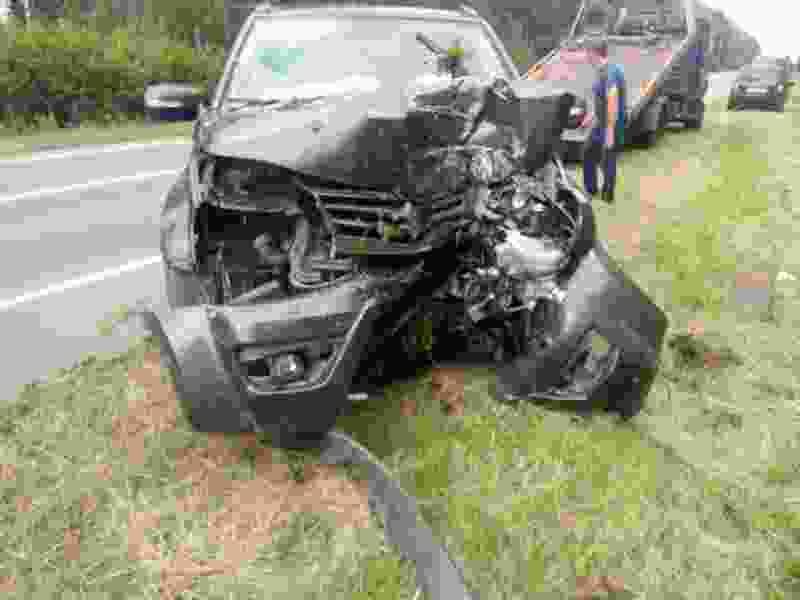 На трассе в Тамбовском районе женщина за рулём иномарки въехала в дерево: пострадали две девочки-подростка