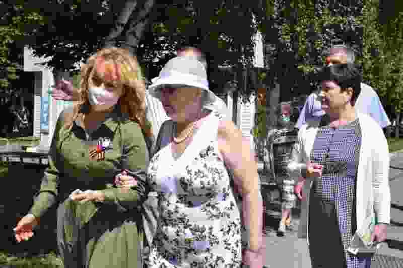 Несмотря на старт голосования по Конституции, глава Тамбова всё-таки встретилась с жителями по поводу строительства автосервиса в зелёной зоне