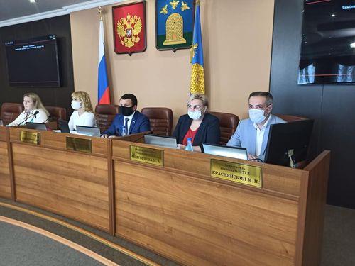 Об итогах 72-го очередного заседания Тамбовской городской Думы