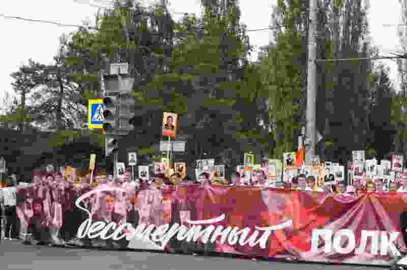 Шествие «Бессмертного полка» в Тамбове в этом году снова пройдёт по новому маршруту