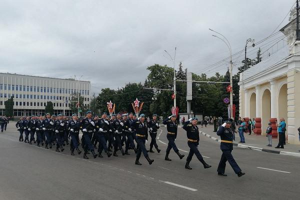 Тамбов готовится кторжественному прохождению войск вчесть 75-летия Победы