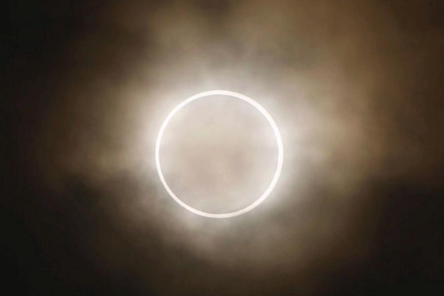 Тамбовчане смогут увидеть уникальное кольцевое затмение