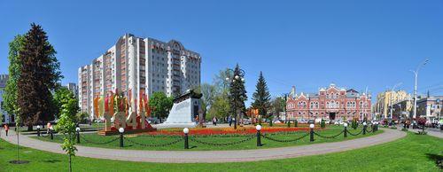Тамбовчане выбрали название для сквера на улице Советской