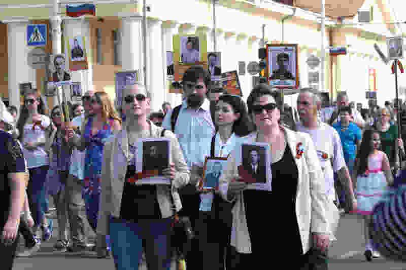 Тамбовские волонтёры предложили новый маршрут Бессмертного полка