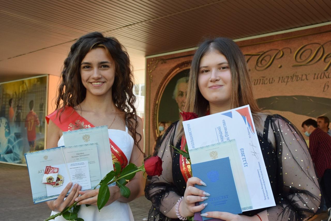 Тамбовские выпускники получили аттестаты в особом режиме