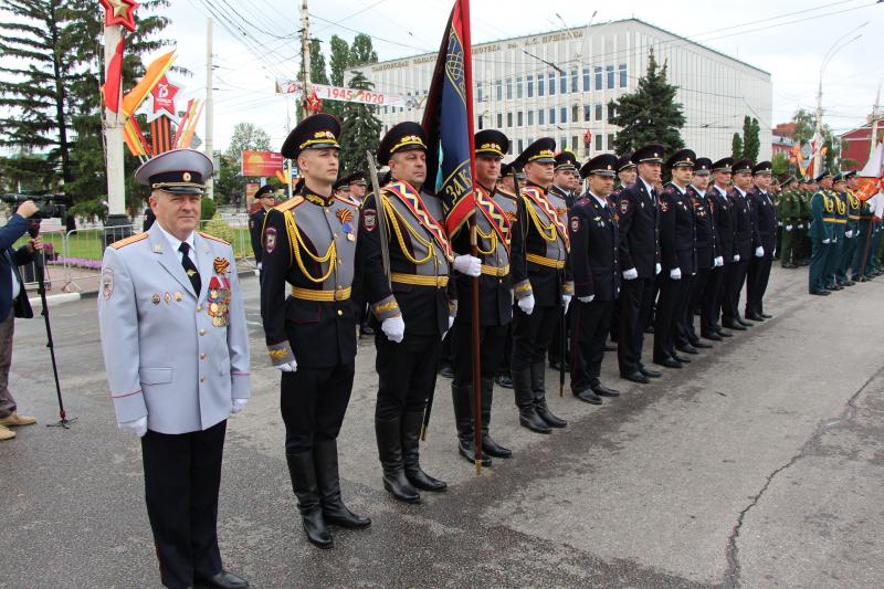 В день Парада Победы за общественным порядком следили более 300 полицейских