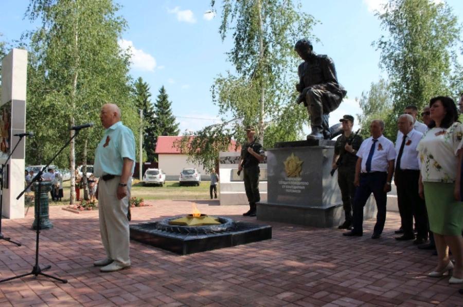 В Мичуринском районе в этом году возведут два мемориальных комплекса