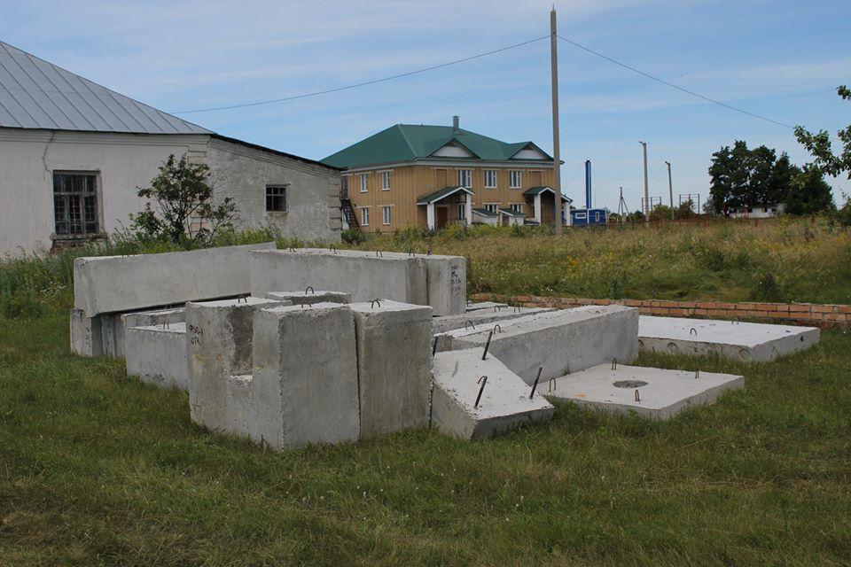 В Сампурском районе начали строить мемориальный комплекс
