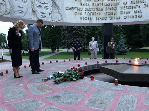 В Тамбове почтили память миллионов жертв Великой Отечественной войны