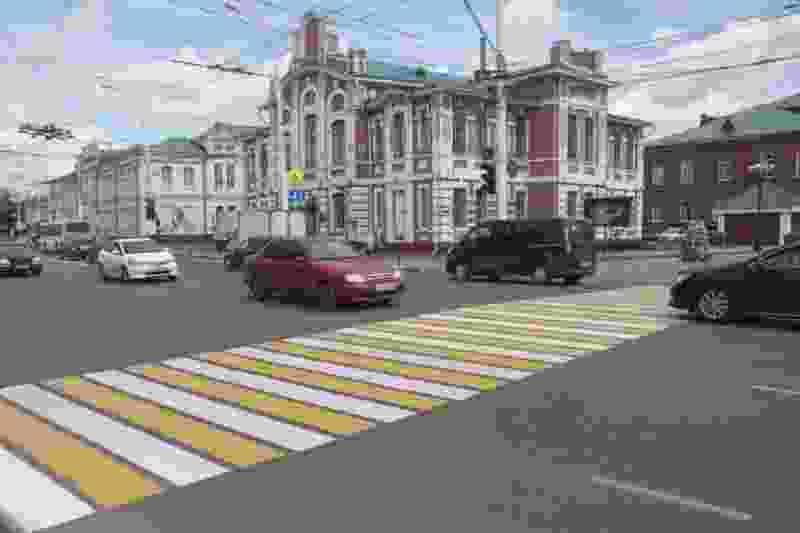 В Тамбове появятся умные пешеходные переходы