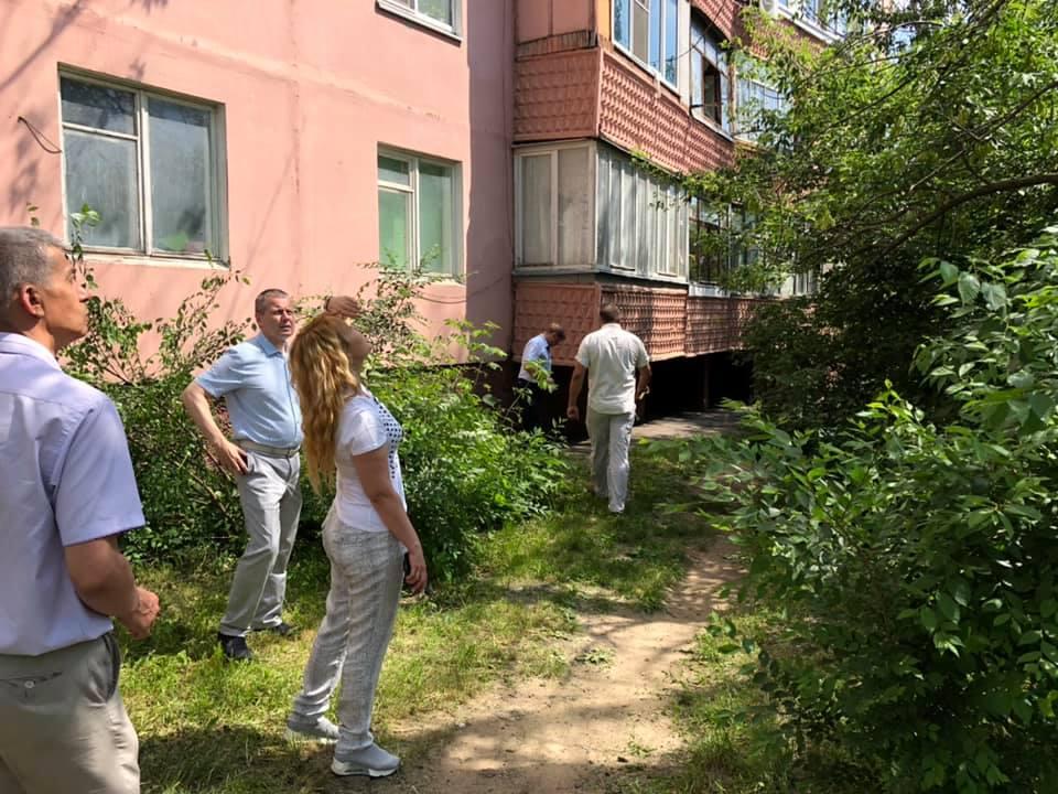 В Тамбове рассмотрели обращения горожан по поводу благоустройства дворов