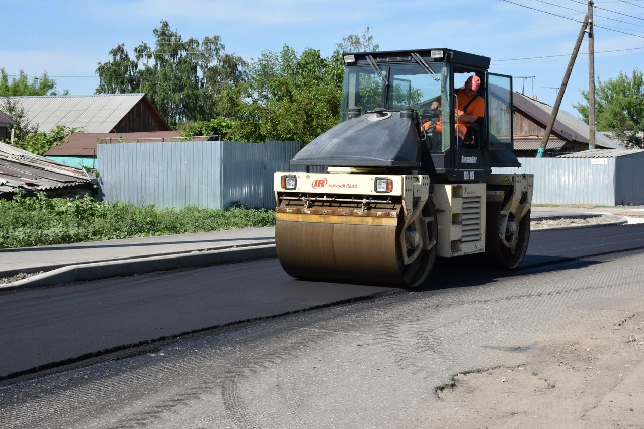 В Тамбове ремонтируют дорогу на Ново-Рубежном переулке