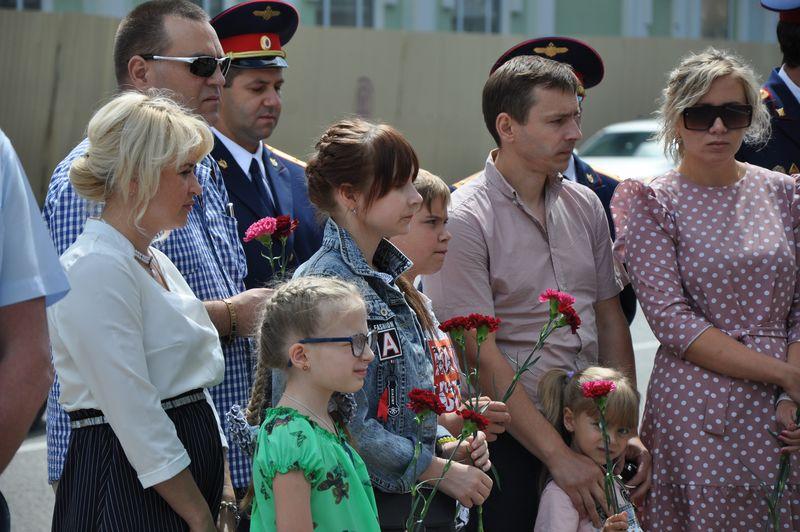 В Тамбове состоялась церемония открытия мемориальной доски
