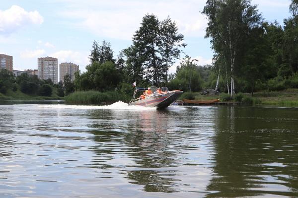 В Тамбовской области сотрудники МЧС усиливают профилактику на воде