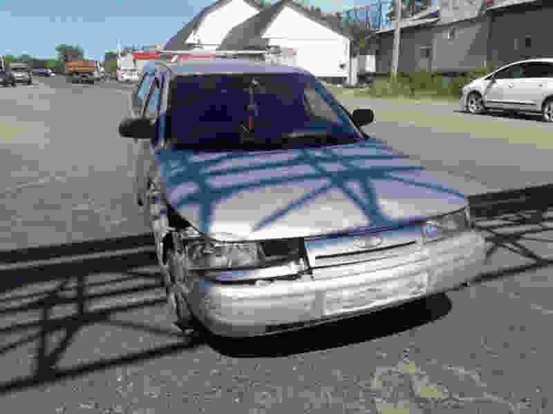 В Тамбовской области в аварию попал пенсионер на мопеде