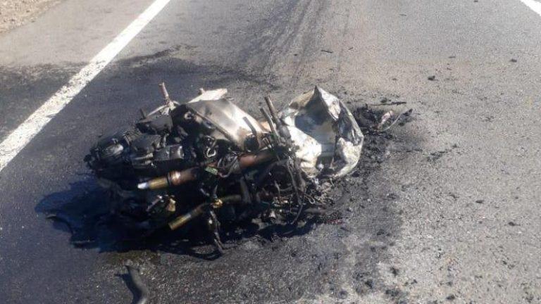В Знаменском районе в ДТП погиб мотоблогер Diablo R1