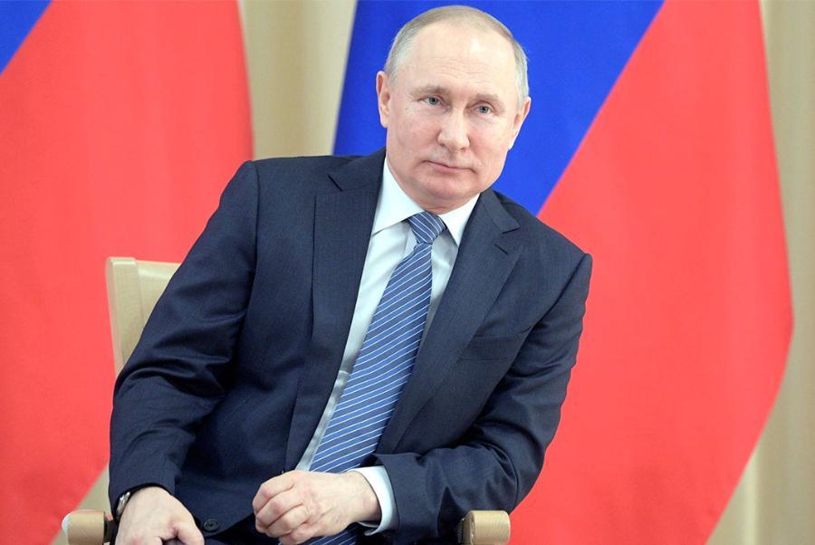 Владимир Путин сегодня обратится к россиянам