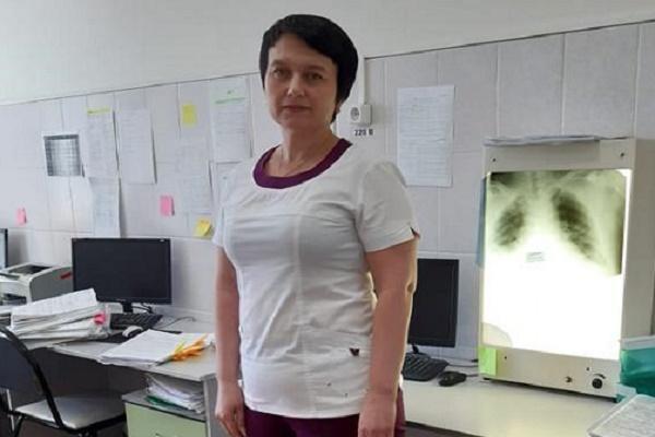 Врач Тамбовской ЦРБ награждена за вклад в борьбу с коронавирусом