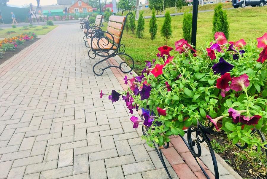 Благоустройство дворов в Тамбовской области завершено на 52 %