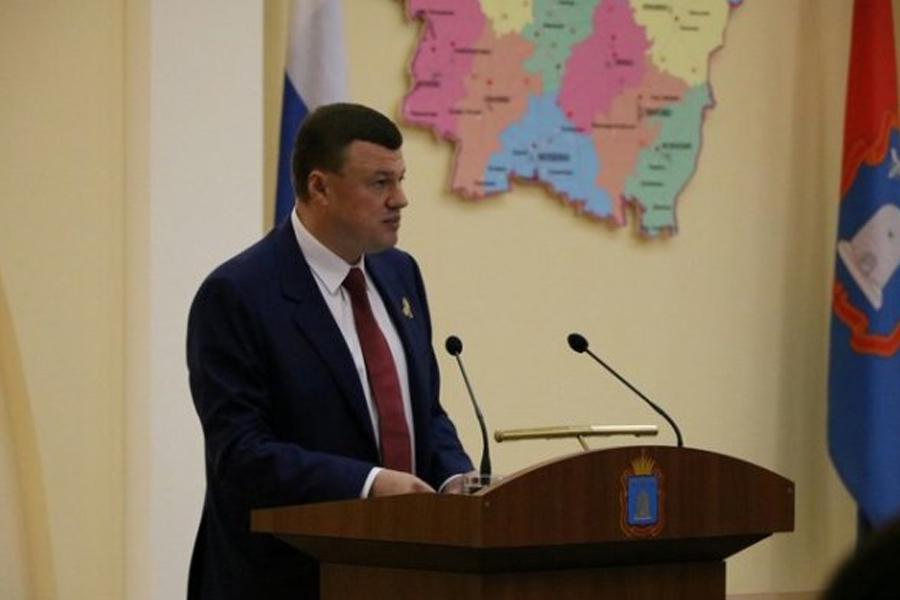 Глава региона Александр Никитин в прямом эфире отчитается перед депутатами