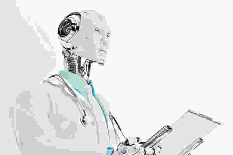 На заводе под Тамбовом придумали и собрали робота-терапевта