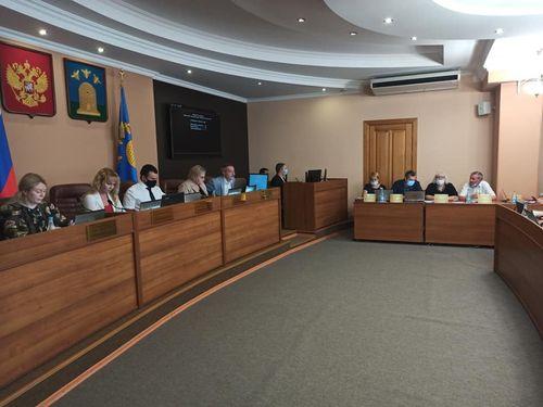 Об итогах 73-го очередного заседания Тамбовской горосдкой Думы
