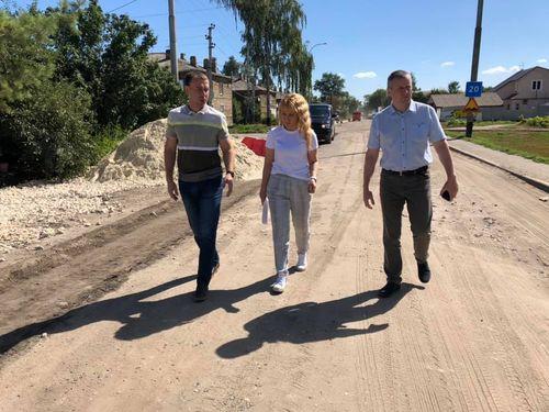 Ремонт городских дорог на контроле главы Тамбова