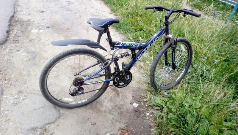 Семнадцатилетний велосипедист попал под колеса автомобиля в Мичуринске