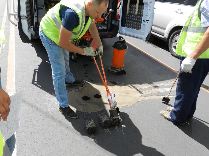 Специалисты вновь проверили качество ремонтируемых дорог в Тамбове