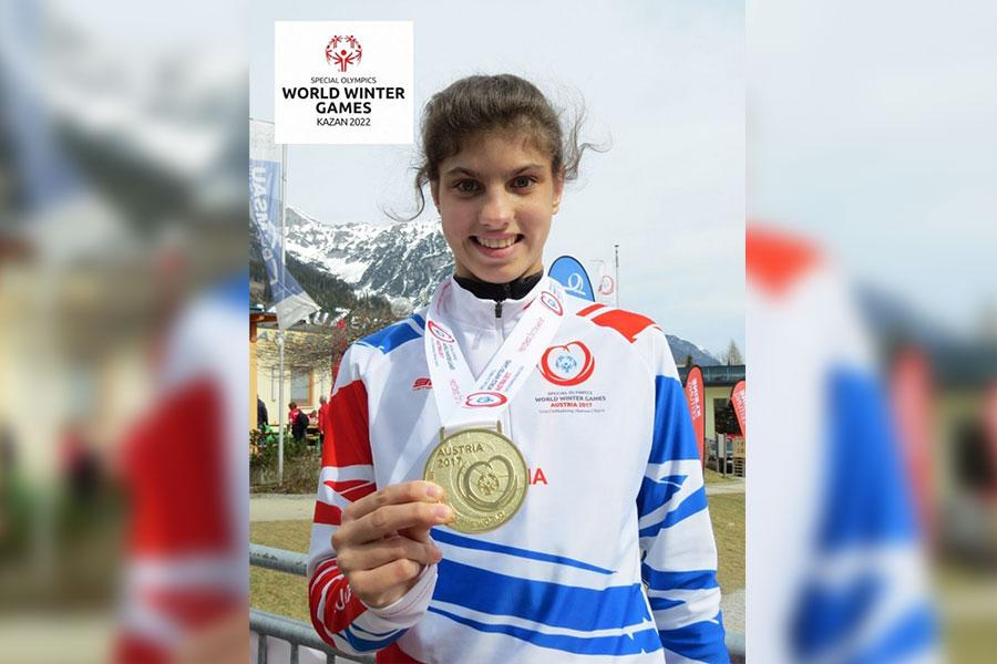 Тамбовская спортсменка станет послом Всемирных зимних игр Специальной Олимпиады в 2022 году
