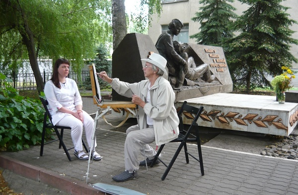 """Тамбовские художники поддержали проект """"Подвиг продолжается"""""""