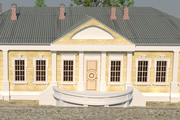 Ученые Тамбовского госуниверситета завершили цифровую реконструкцию губернаторского дома времен Гавриила Державина