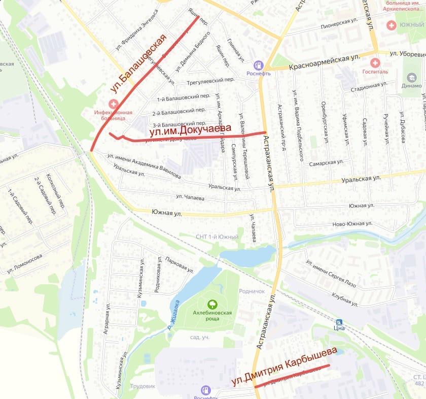 В этом году в Тамбове отремонтируют улицу Делегатскую