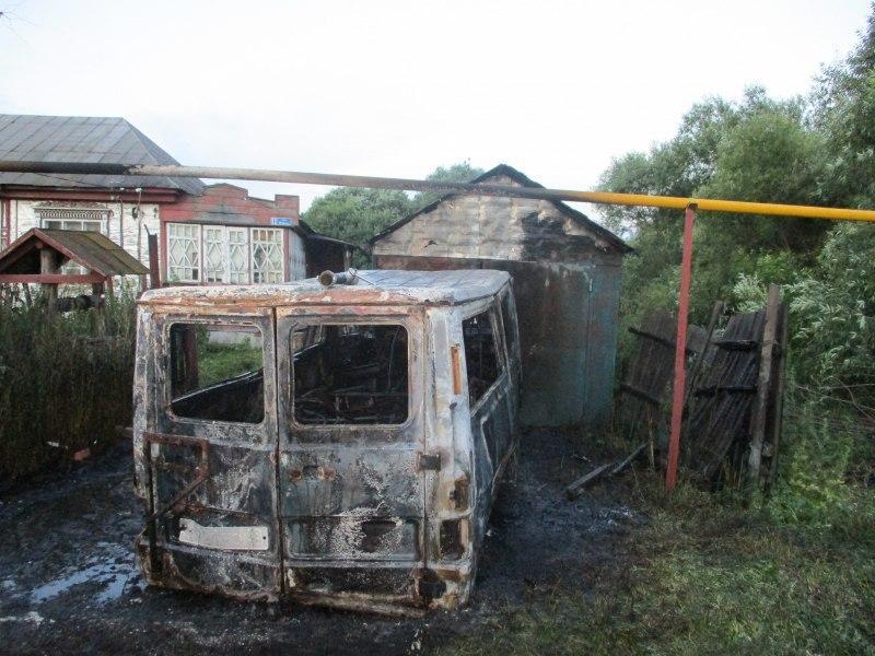 В Рассказовским районе соседи повздорили «с огоньком»
