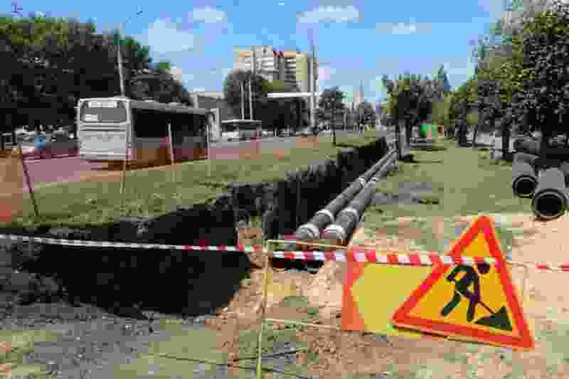 В Тамбове на улице Мичуринской заменят больше 300 метров теплотрассы
