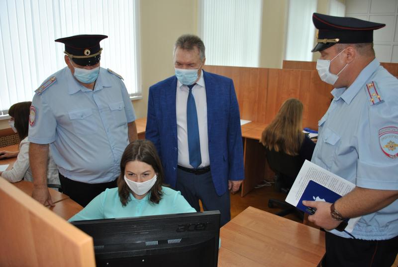 В Тамбове открыли обновленное здание Центра автоматической фиксации правонарушений